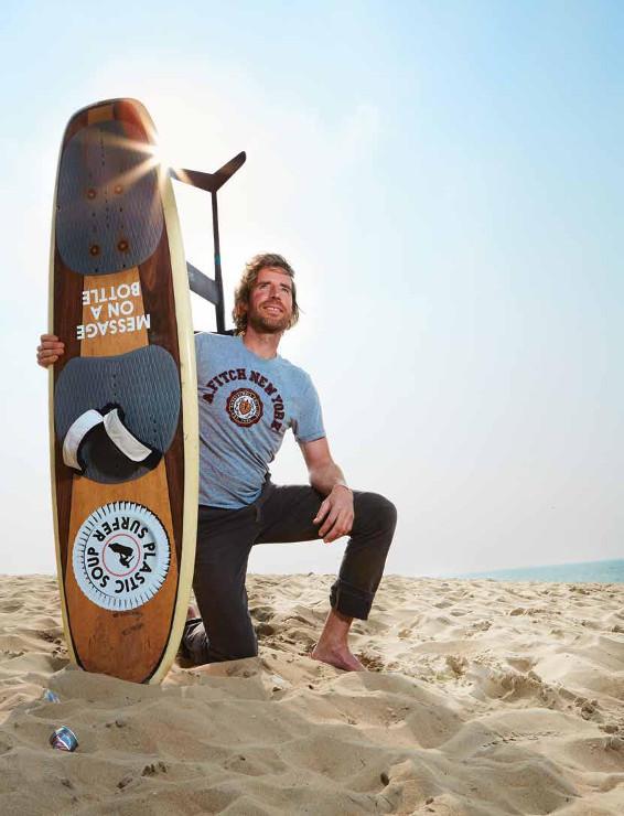 Plasticbestrijders Plastic Soup Surfer