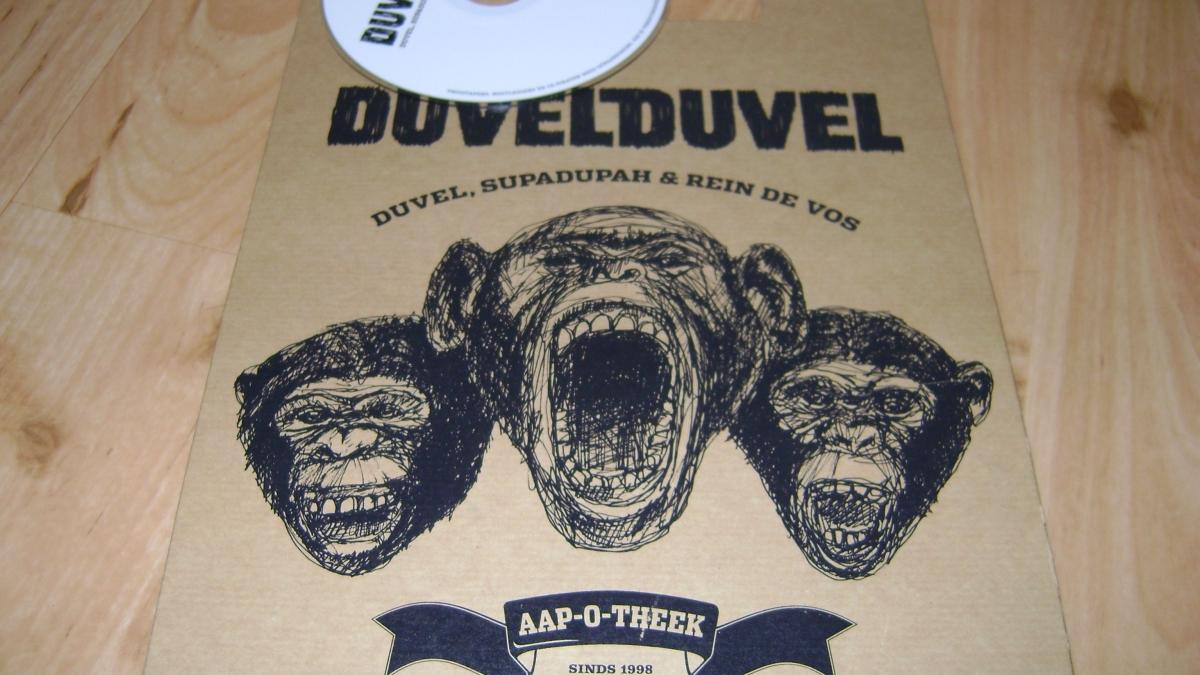 Visuele identiteit voor Duvelduvel: 'Als het maar lauw is.'