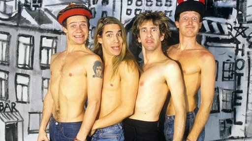 Red Hot Chili Peppers, altijd raak
