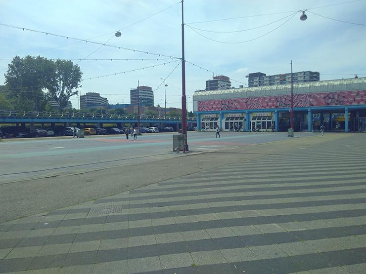 Amsterdam-Noord Buiksloterplein Wendy Koops